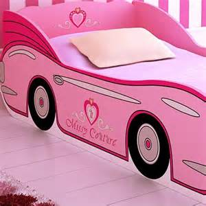 Toddler Pink Race Car Bed 12 Beds For Ages 2 To 5 Years