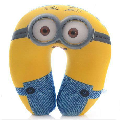 despicable me minions neck pillow neverseenthis the