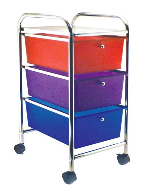 colored drawer cart rolling cart classroom direct