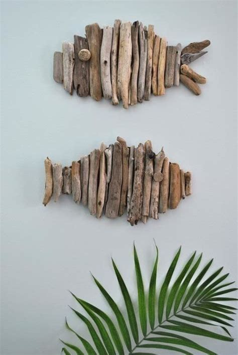 driftwood craft projects driftwood fish 183 how to make a twig ornament 183 on cut