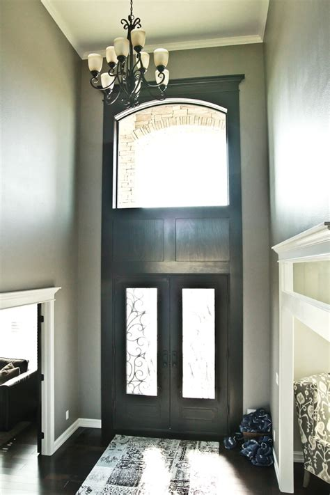 Foyer Lighting In A Foyer Window Above Door Entry Window Above Front Door