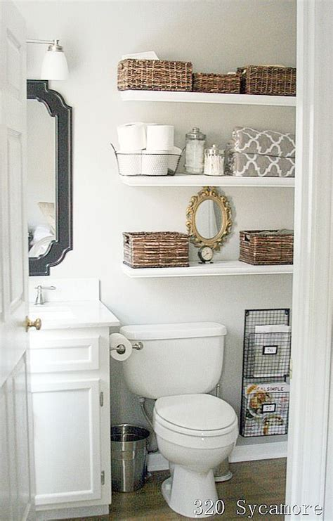 11 fantastic small bathroom organizing ideas shelving