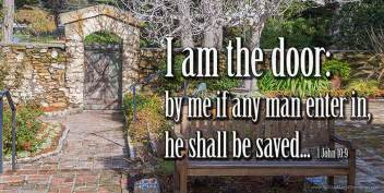 I Am The Door Of The Sheep by Salt And Light Devotions August 12 2015