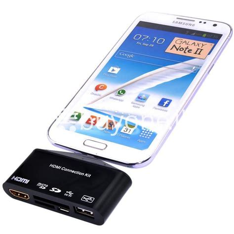 Mobile Phone Hdtv For Galaxy S5 Limited best deal hdtv tv adapter with otg card reader for samsung galaxy s3 s4 s5 i9300 i9500