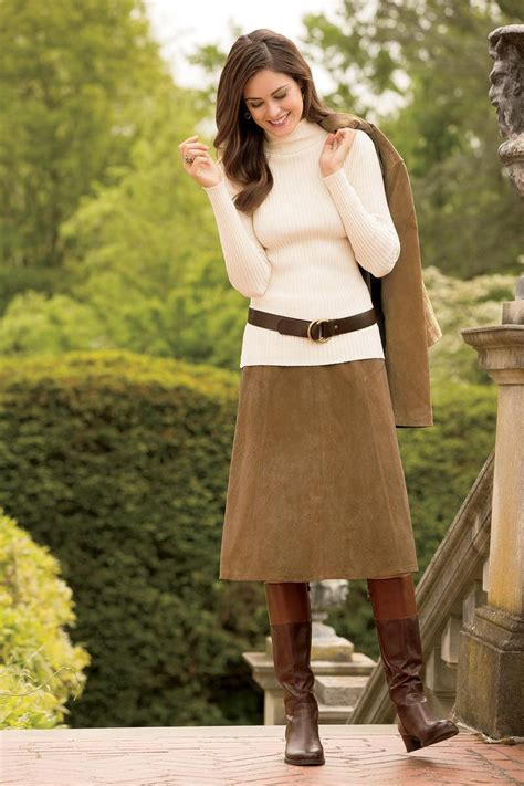 Winter Vintage Boot With Belt 17 best images about how to wear suede skirt on