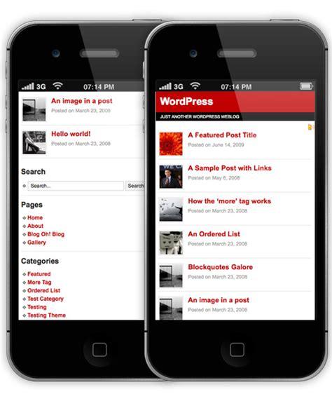 layout wordpress mobile 15 best free mobile wordpress themes and plugins neo design