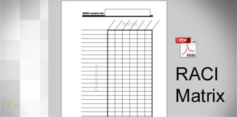 Download Raci Template In Pdf Raci Template Sheets