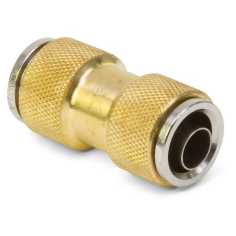 Pnuematic Push In Fitting 12mm X 10mm Union m12 dot push in air brake union kimball midwest