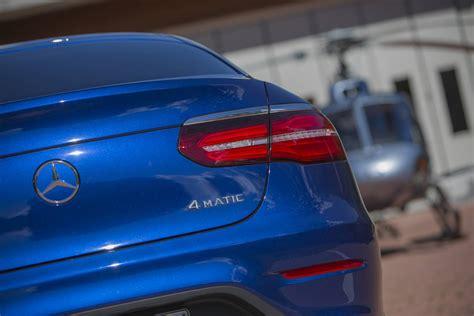 blue mercedes 2017 mercedes benz glc coupe review gtspirit