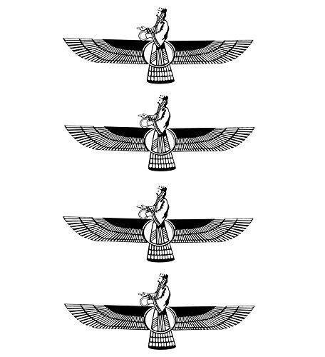 farvahar tattoo zoroastrian symbol www pixshark images