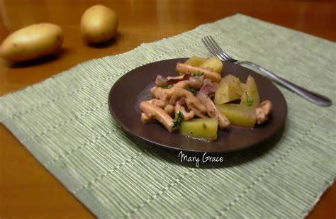 come cucinare seppie e patate seppia con patate grace tra le nuvole in cucina