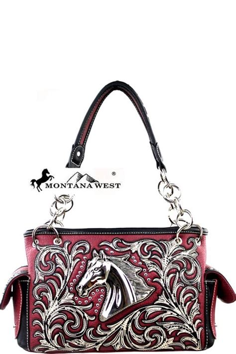 G Ci Hobo Coins Mini Pocket mw212g 8085 burgundy montana west collection handbag bag