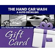 Gift Certificate  The Hand Car Wash And Auto Detailing