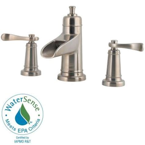 faucet home depot bathroom pfister ashfield waterfall 8 in widespread 2 handle