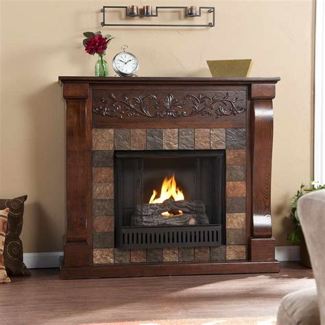Wood In Gas Fireplace by Interior Ventless Gas Fireplaces With Wood