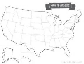 blank maps of united states for