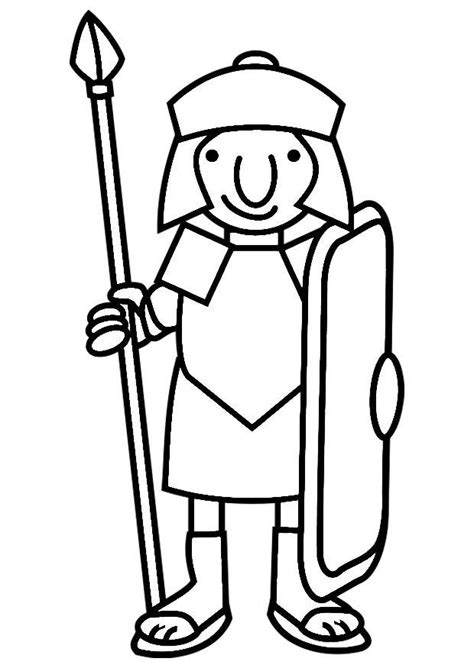 roman soldier coloring pages az coloring pages