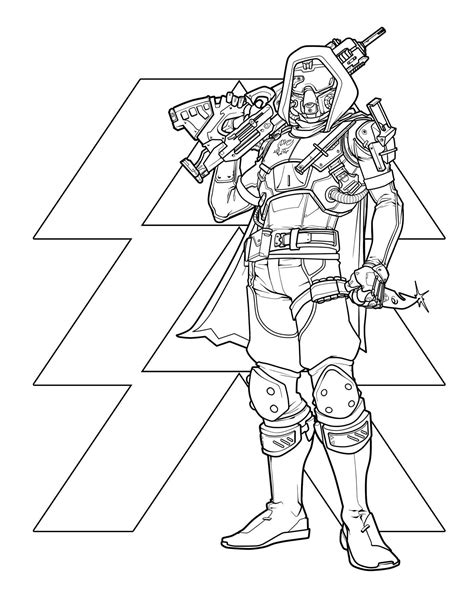 Destiny: The Official Coloring Book | Book by Bungie, Ze