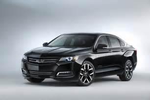chevrolet impala blackout concept sema 2014 gm authority