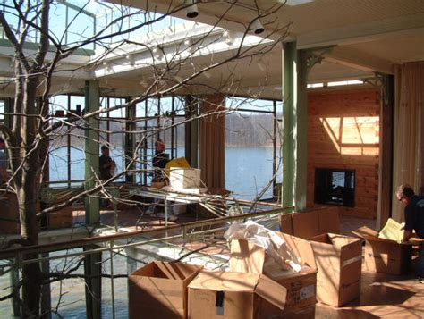 lake house movie how they built a glass house for quot the lake house quot movie