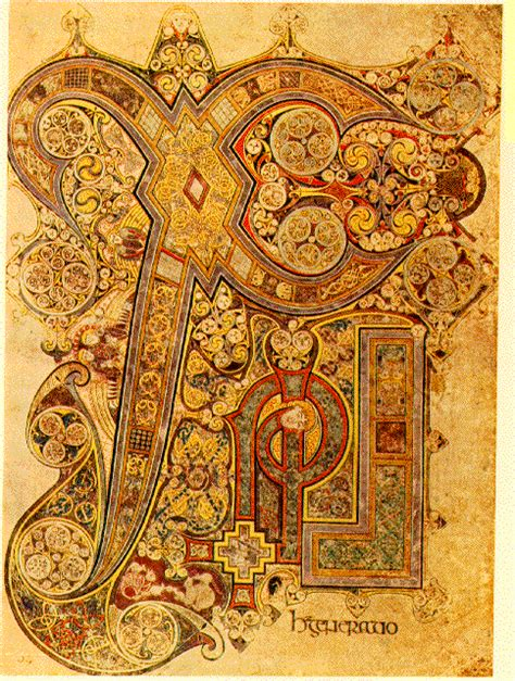 libro the gothic art of book of kells