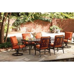 thomasville messina patio furniture thomasville messina 7 patio dining set with paprika