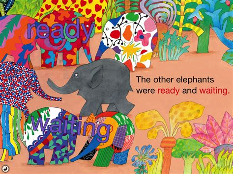 Elma The Patchwork Elephant - elmer the patchwork elephant two tissue paper staining