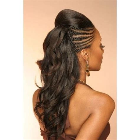 hairstyles half braids formal half braided hairstyle for african american women