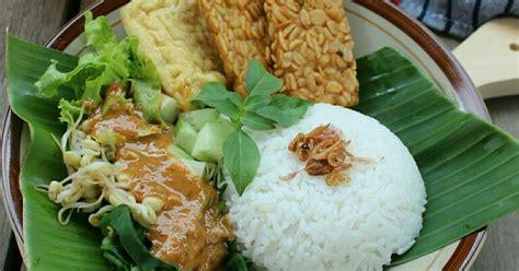 resep nasi pecel madiun enak  sederhana cookpad
