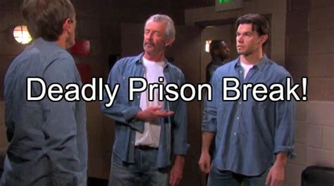 Days Of Our Lives Spoilers Clyde Breaks Out Of Prison With Xander And | celeb dirty laundry 20 new articles