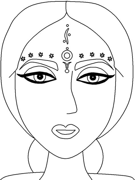 coloring book pages india printablecolouringpictures some colouring culture pages