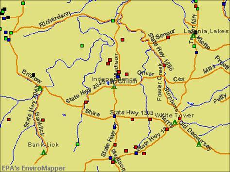 independence kentucky map independence kentucky ky 41051 profile population
