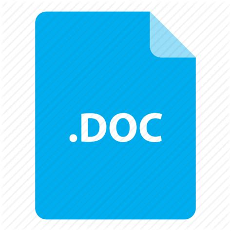 Format File Doc | doc file file extension file format file type icon