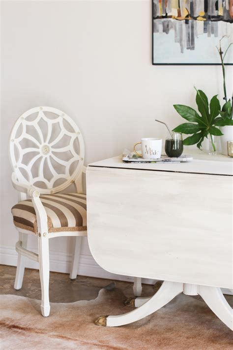 how to a drop leaf table painting a drop leaf table
