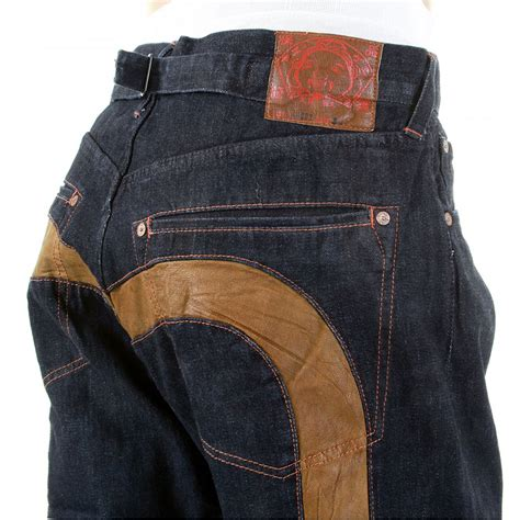 Evisu Original and original diacock indigo denim by evisu at