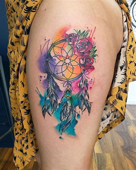 dreamcatcher tattoo with roses meaning dreamcatcher tattoo meanings dream catcher designs 2018