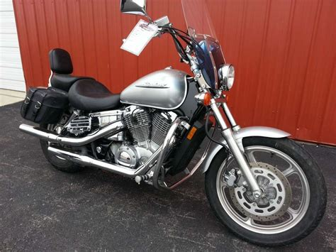 honda shadow spirit 2007 honda vt1100 shadow spirit silver