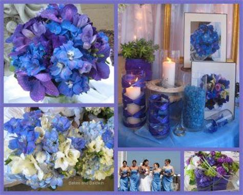 royal blue purple and silver wedding ideas source bios weddingbee of forevers