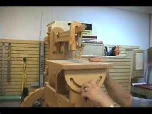 Handmade Machines - pedal operated wooden scroll saw