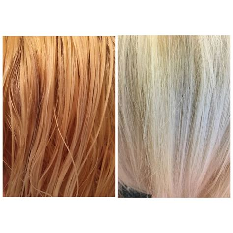 over the counter toner to calm blonde hair before and after t18 wella toner style pinterest