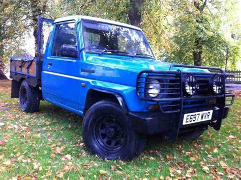 daihatsu  fourtrak dx diesel blue pick  full mot