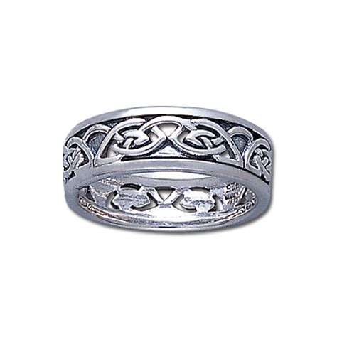 7mm 0 925 sterling silver celtic knot