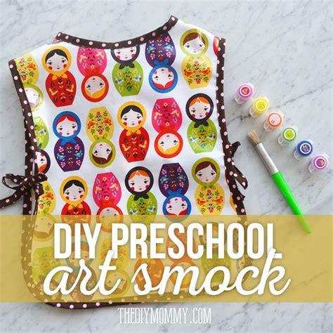 kindergarten smock pattern sew a simple preschool art smock tutorial the diy mommy