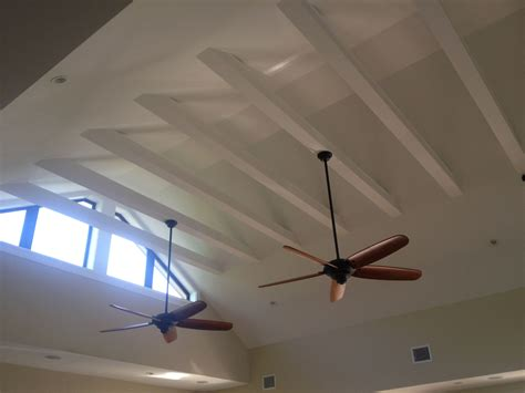 open beam ceiling open exposed beam ceiling garage converted to bedroom