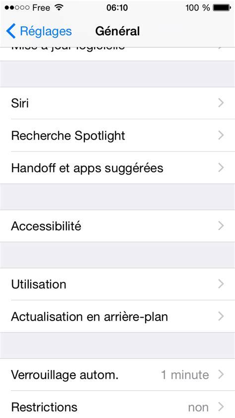 Comment activer le mode nuance de gris de mon iPhone