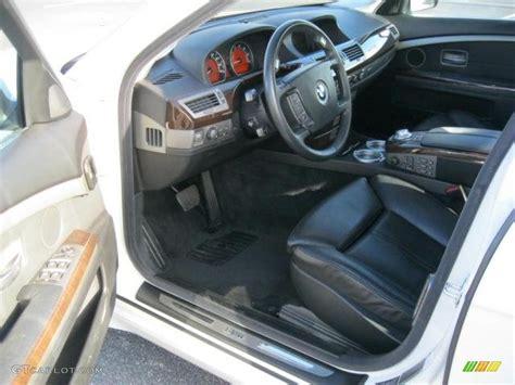 2005 Bmw 745li Interior by Black Black Interior 2005 Bmw 7 Series 745li Sedan Photo