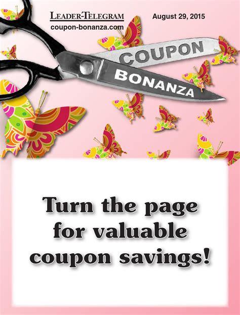 haircut coupons eau claire wi coupon bonanza august 29 2015 eau claire wi by leader