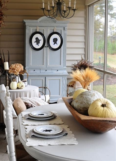 shabby chic fall decorating ideas 24 vintage and shabby chic thanksgiving d 233 cor ideas digsdigs