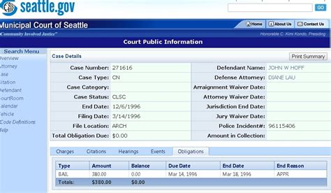 Seattle Criminal Record The Misadventures Of Johnny Northside Seattle Arrest