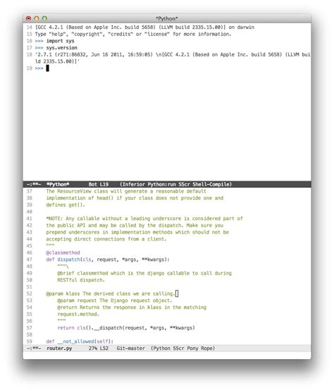 Vim Ctrl Z Resume by My Bout With Emacs And Why I Chose To Stick With Vim